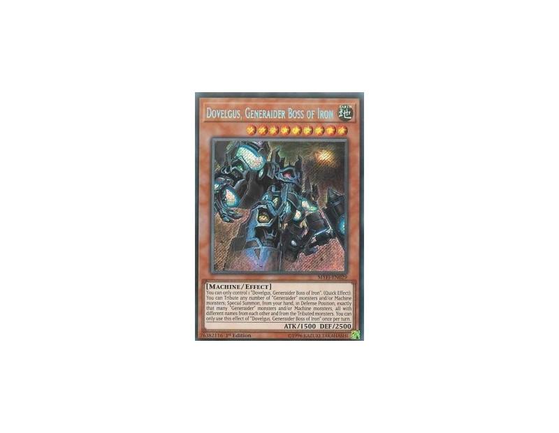 Dovelgus, Generaider Boss of Iron (MYFI-EN029) - 1st Edition
