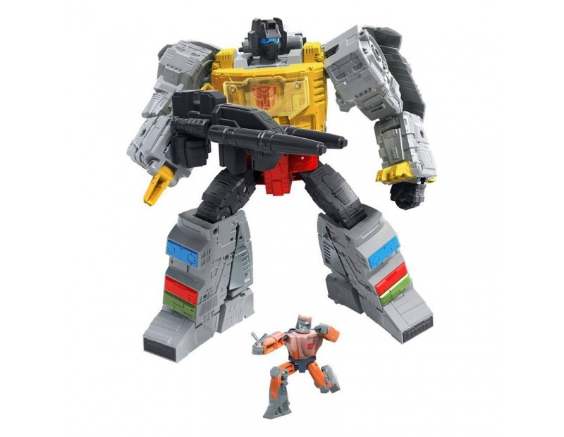 Action Figure Grimlock & Autobot Wheelie (Leader Class)