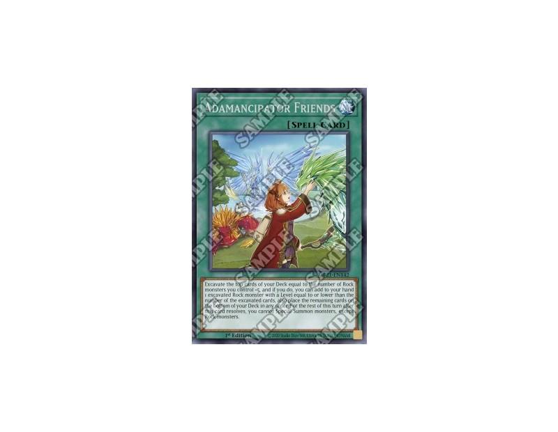 Adamancipator Friends (MP21-EN142) - 1st Edition