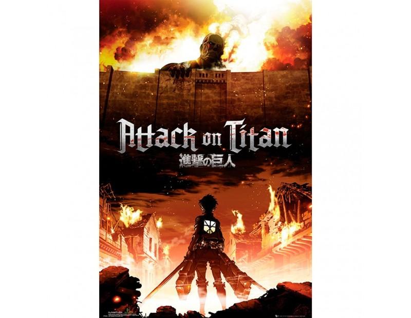Αφίσα Attack on Titan - Key Art (91x61)
