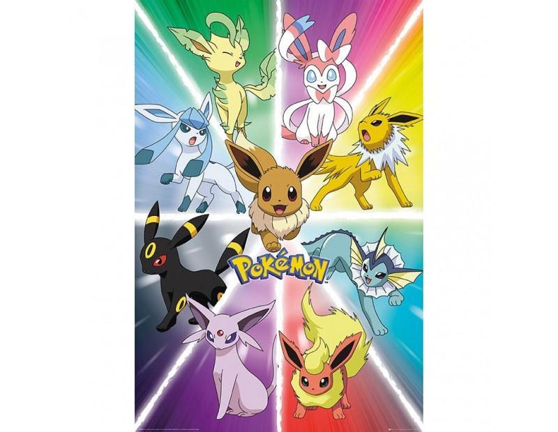 Αφίσα Eevee Evolution (91x61)