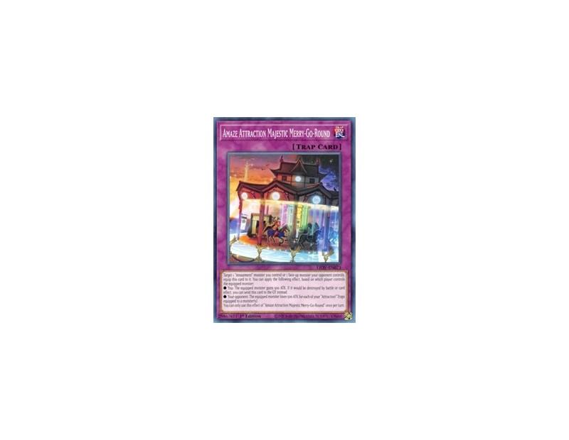 Amaze Attraction Majestic Merry-Go-Round (LIOV-EN073) - 1st Edition