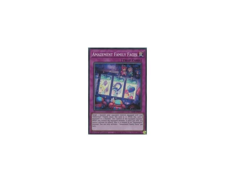 Amazement Family Faces (LIOV-EN070) - 1st Edition