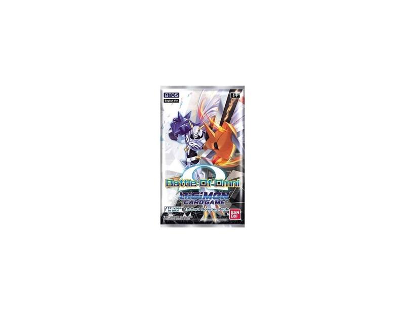 Booster Pack Digimon Battle of Omni (BT05)