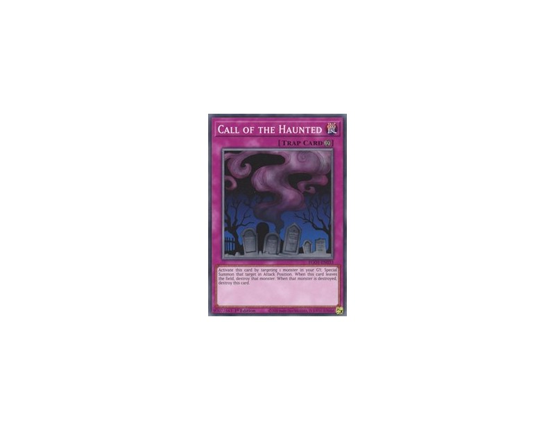 Call of the Haunted (EGO1-EN033) - 1st Edition