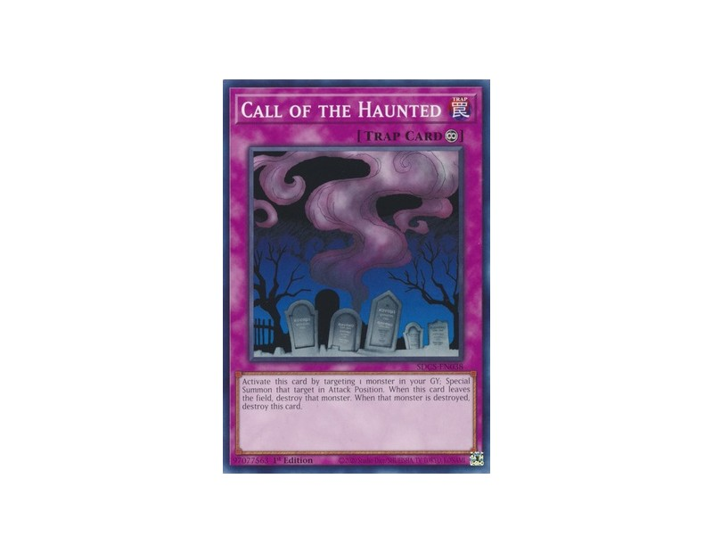 Call of the Haunted (SDCS-EN038) - 1st Edition