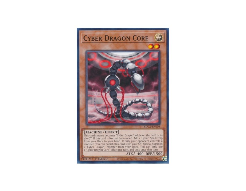 Cyber Dragon Core (SDCS-EN008) - 1st Edition
