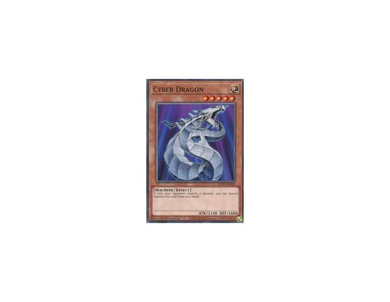 Cyber Dragon (EGO1-EN009) - 1st Edition
