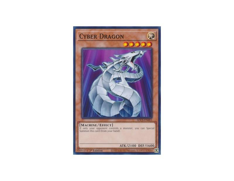 Cyber Dragon (SDCS-EN003) - 1st Edition