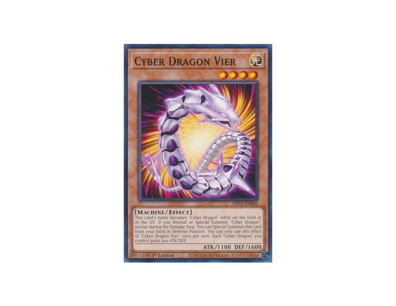 Cyber Dragon Vier (SDCS-EN006) - 1st Edition