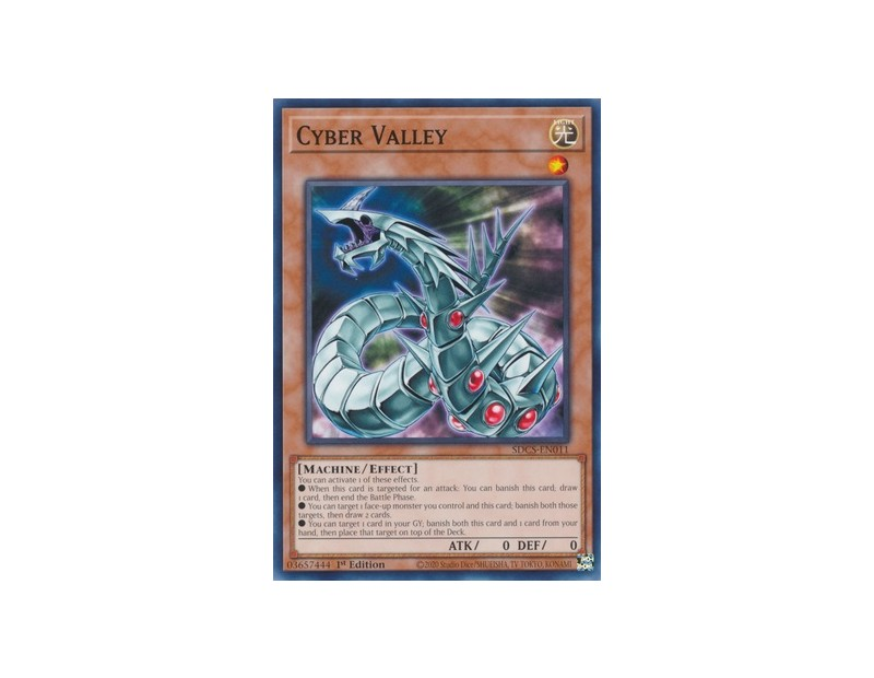 Cyber Valley (SDCS-EN011) - 1st Edition