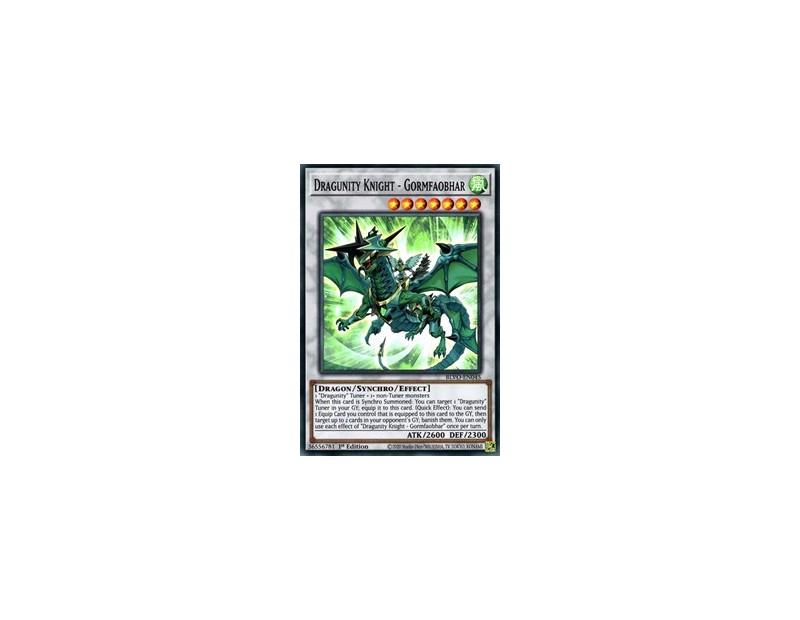 Dragunity Knight - Gormfaobhar (BLVO-EN045) - 1st Edition