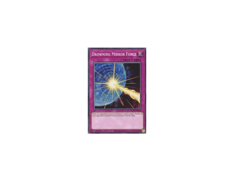 Drowning Mirror Force (EGO1-EN035) - 1st Edition