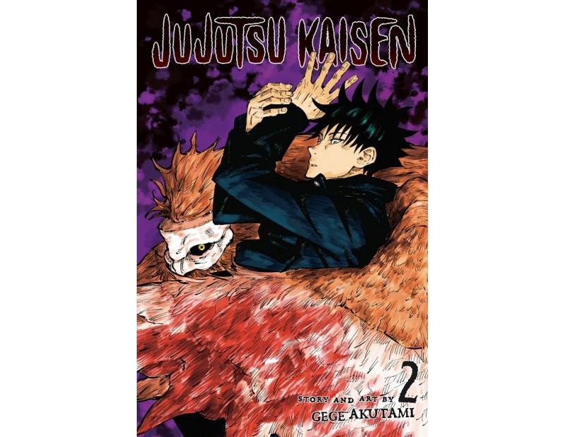 Manga Jujutsu Kaisen Τόμος 2 (English)