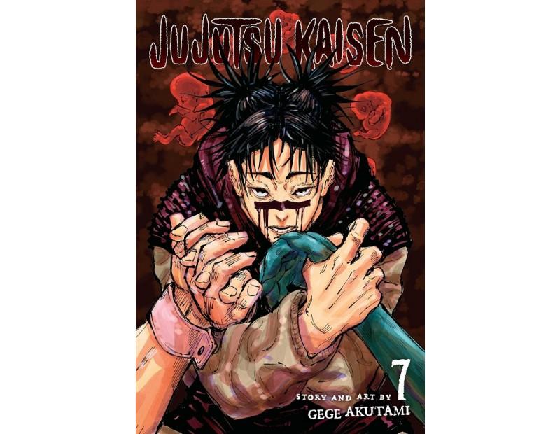 Manga Jujutsu Kaisen Τόμος 7 (English)