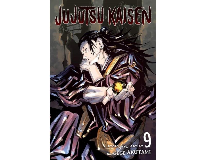 Manga Jujutsu Kaisen Τόμος 9 (English)