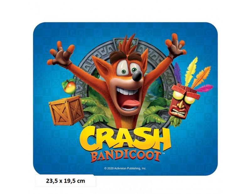 Mousepad Crash Bandicoot (Flexible)