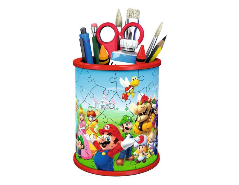 Puzzle Super Mario Pencil Holder 3D (54 pieces)