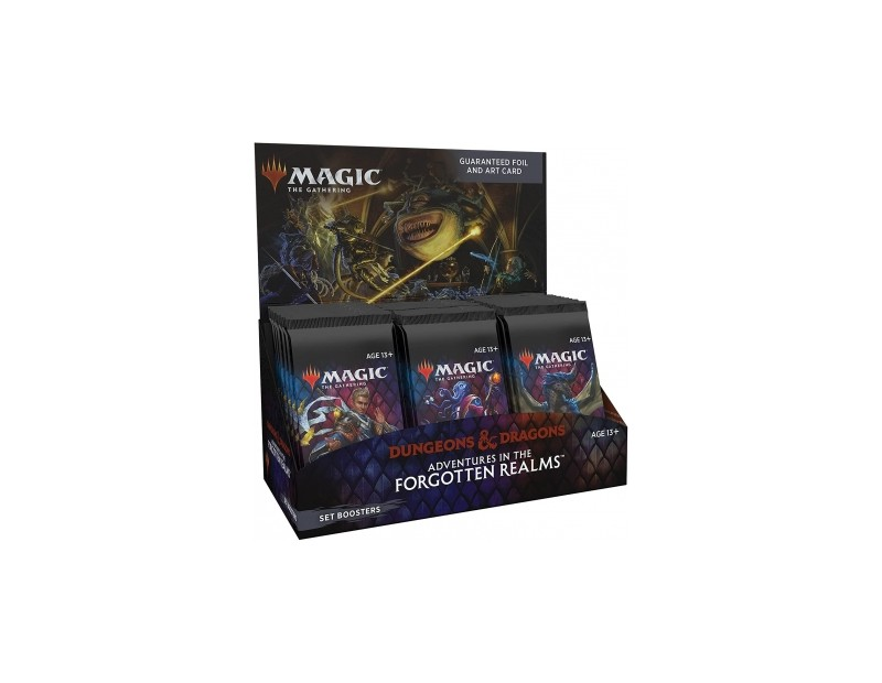 Set Booster Display Adventures in the Forgotten Realms