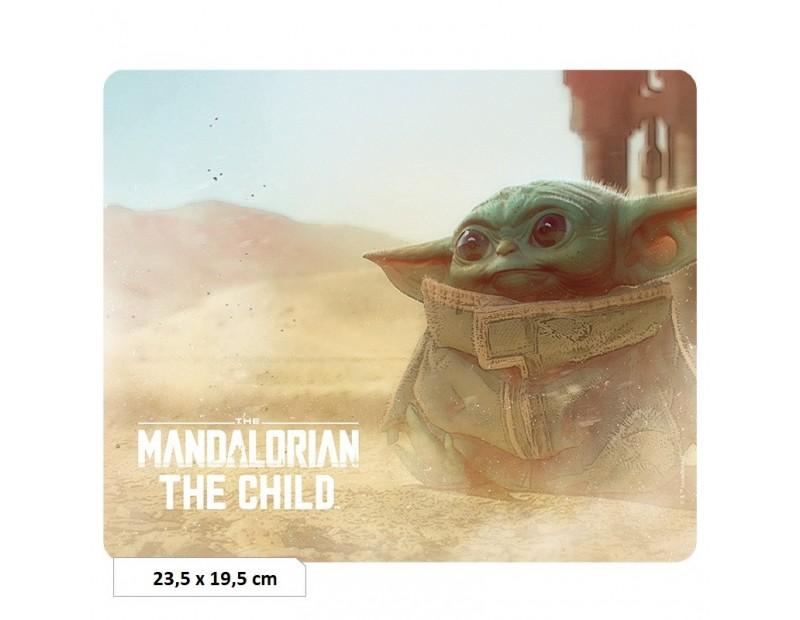 Mousepad Baby Yoda (Flexible)