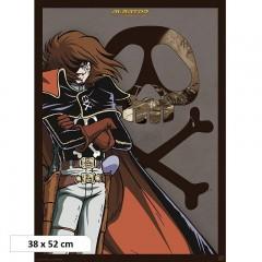 Αφίσα Captain Harlock (38x52)