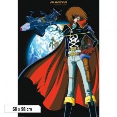Αφίσα Captain Harlock + Arcadia (98x68)
