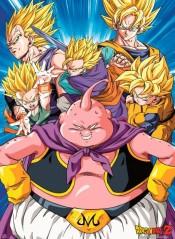 Αφίσα Buu vs Super Saiyans (38x52)