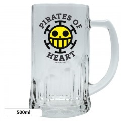 Ποτήρι Μπύρας Heart Pirates (500ml)