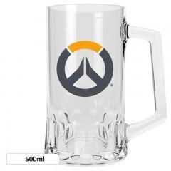 Ποτήρι Μπύρας Logo Overwatc (500ml)
