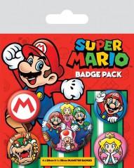 Σετ Κονκάρδες Super Mario