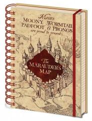 Τετράδιο Marauder's Map (A5)