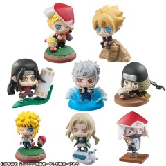 Trading Figure Boruto and Hokage (Petit Chara Land)