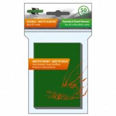Blackfire Sleeves - Standard Double-Matte Green (50 Sleeves)