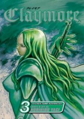 Manga Claymore Τόμος 3 (English)