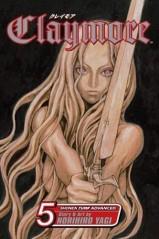 Manga Claymore Τόμος 5 (English)