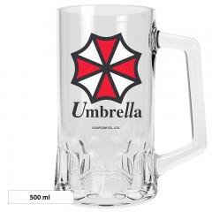Ποτήρι Μπύρας Umbrella Corp (500ml)