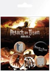 Κονκάρδες Attack on Titan (x6)