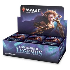 Draft Booster Display Commander Legends