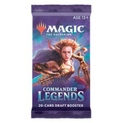 Draft Booster Commander Legends