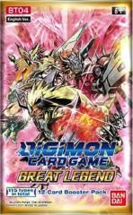Booster Pack Digimon Great Legend (BT04)